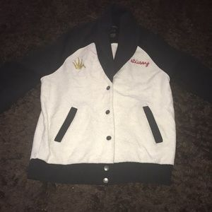 Vintage Stussy Terry Fabric jacket